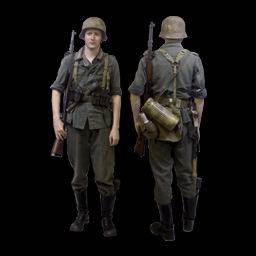 Рабочий китель Вермахта - Германская Империя и Третий Рейх до 1945